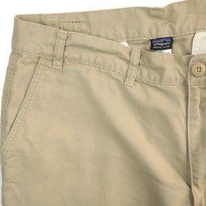 Patagonia Organic Cotton Flat Front Casual Pants